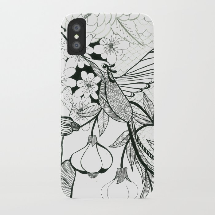 Hummingbird 2 iPhone Case