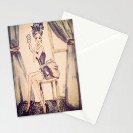 marie antoniette Stationery Cards