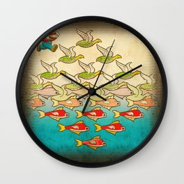 Lost Level Wall Clock