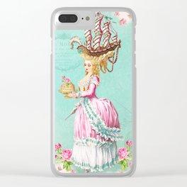 Marie Antoinette Liberté Clear iPhone Case