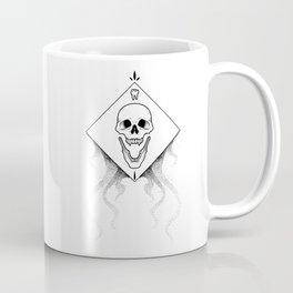 Grin Reaper - White Coffee Mug