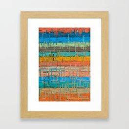 carpet installation Framed Art Print