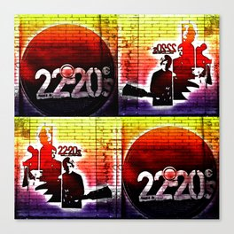22-20s Canvas Print