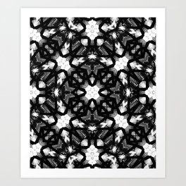 Black & White web 1 Art Print