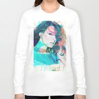 feminism Long Sleeve T-shirts featuring Feminism by Oana Popan