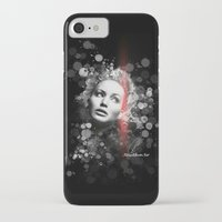 jennifer lawrence iPhone & iPod Cases featuring Jennifer Lawrence III by Rene Alberto