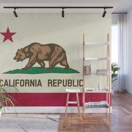 California Republic Flag Wall Mural
