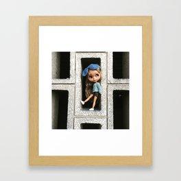 Cinder(block)ella Framed Art Print