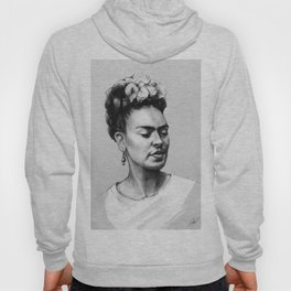 Portrait of Frida Kahlo Hoody