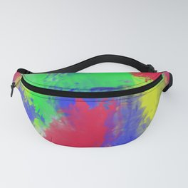 Abstract colorful pattern Fanny Pack