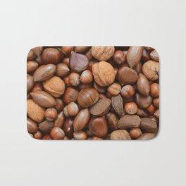 Mixed nuts Bath Mat