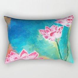Lotus Lover Rectangular Pillow