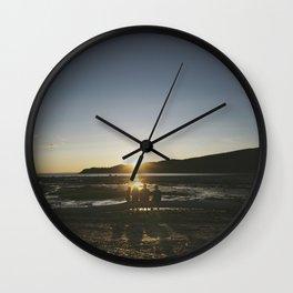 Bic Sunset Wall Clock