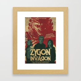 "Doctor Who ""The Zygon Invasion"" Framed Art Print"