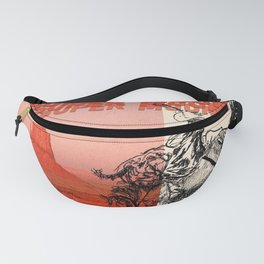the dirty of super heads moon tour 2021 Fanny Pack