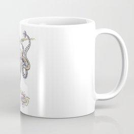 Flower Dragon Coffee Mug