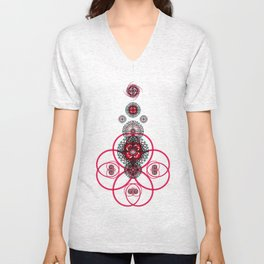 Sacred Geometry G6h Unisex V-Neck