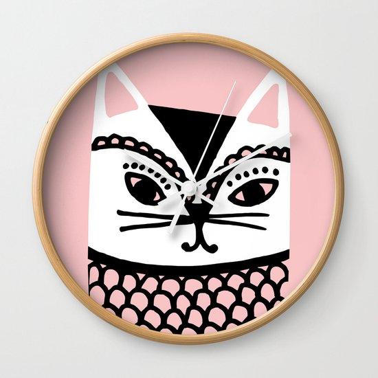 Katze #2 Wall Clock