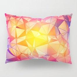 Polygonal Pattern Pillow Sham