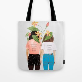 Motto #illustration #concept #painting Tote Bag