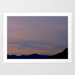 spanish skies Art Print