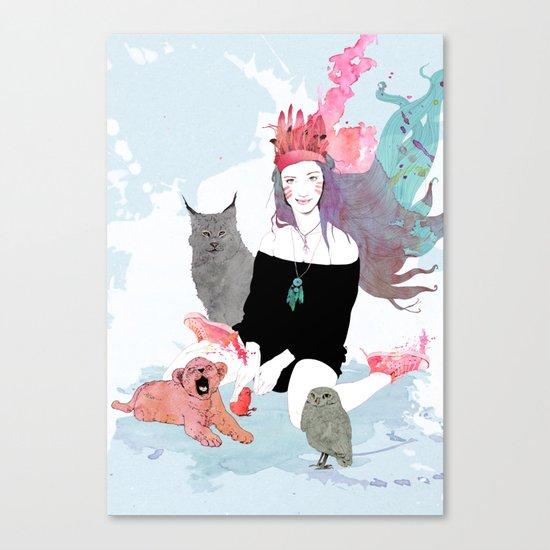 Fashion Sioux Canvas Print