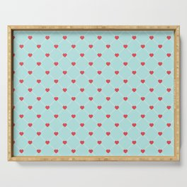 Valentine's Day Pattern | Love Heart Relationship Serving Tray