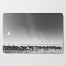 Wild Mustangs Cutting Board
