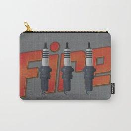 Fire, spark plug Carry-All Pouch