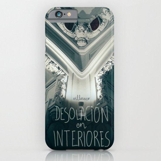 Desolación en interiores iPhone & iPod Case