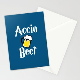 Accio Beer Stationery Cards