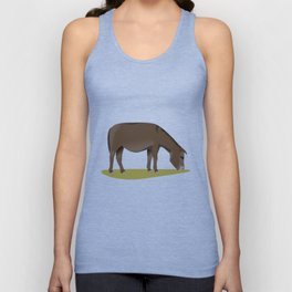 New Forest Donkey Unisex Tank Top