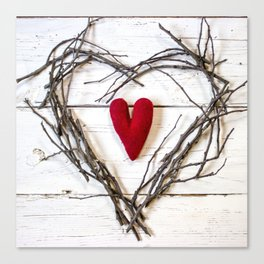 Heart ofHearts Canvas Print