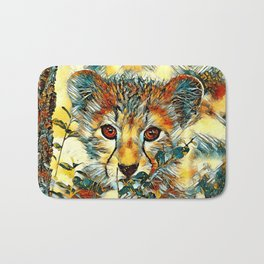 AnimalArt_Cheetah_20171201_by_JAMColorsSpecial Bath Mat