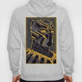 The King Of Wakanda - Panther Pattern Hoody