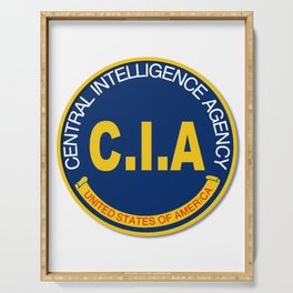 CIA Logo Mockup Serving Tray