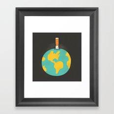 Time For A Change Framed Art Print