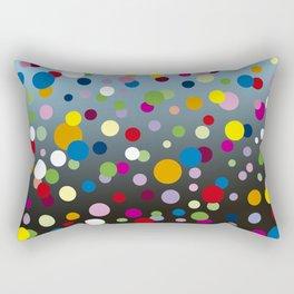 Multi-colored bubbles Rectangular Pillow