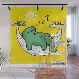 Dinosnore Wall Mural