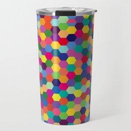 Geometric Pattern #3 Travel Mug