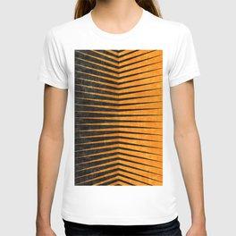 Yellow / Black - Geometric T-shirt