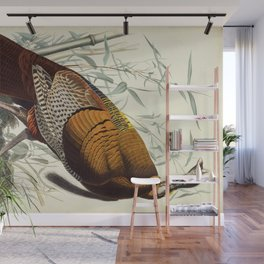 Great American Cock (Wild Turkey) Wall Mural