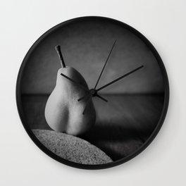 Pear-Shaped Nude Wall Clock