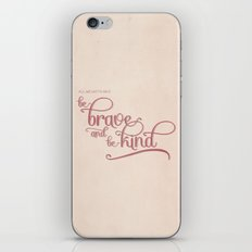 baby we'll be fine iPhone & iPod Skin