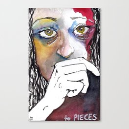 to PIECES Canvas Print