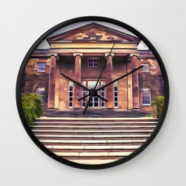 Hillsborough Castle, Northern Ireland. (Painting) Wall Clock