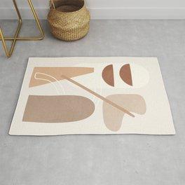Abstract Shapes No.23 Rug