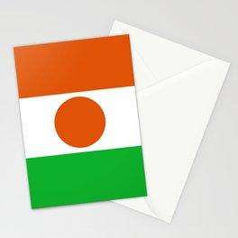 Niger Flag Stationery Cards