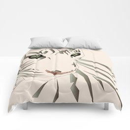 Tiger's Tranquility Comforters