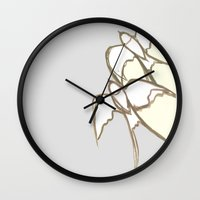plain Wall Clocks featuring s1 plain by gasponce